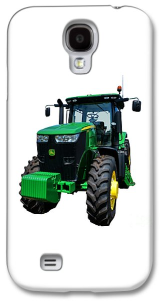Equipment Photographs Galaxy S4 Cases - John Deere 7215R Galaxy S4 Case by Olivier Le Queinec