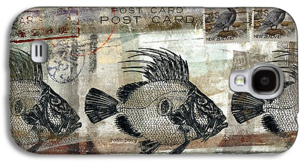 John Dory Fish Postcard Galaxy S4 Case by Carol Leigh