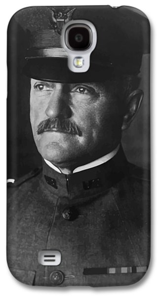 West Digital Art Galaxy S4 Cases - John J. Pershing Galaxy S4 Case by War Is Hell Store