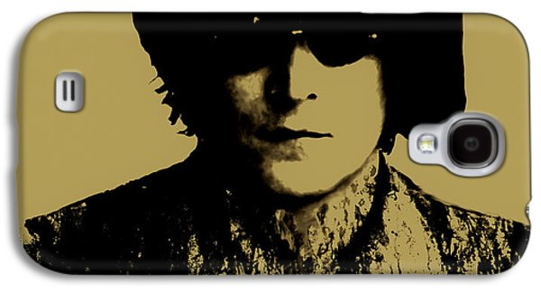 Beatles Galaxy S4 Cases - John Lennon Running Paint Galaxy S4 Case by Brian Reaves