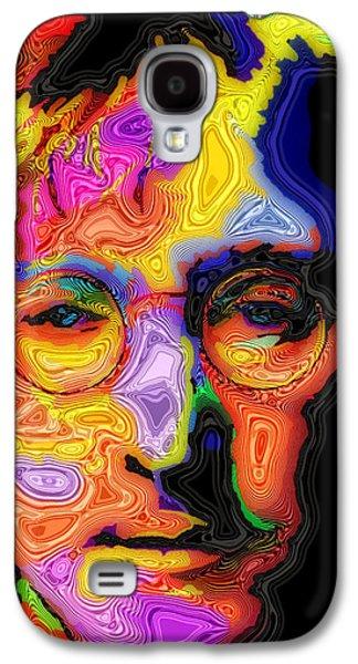 John Lennon Galaxy S4 Cases - John Lennon Galaxy S4 Case by Stephen Anderson
