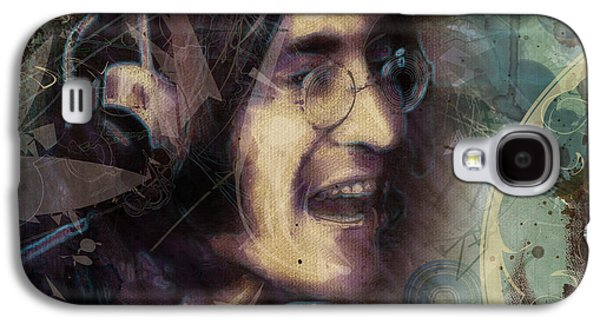 Beatles Galaxy S4 Cases - John Lennon Tribute- Dont Let Me Down Galaxy S4 Case by David Finley