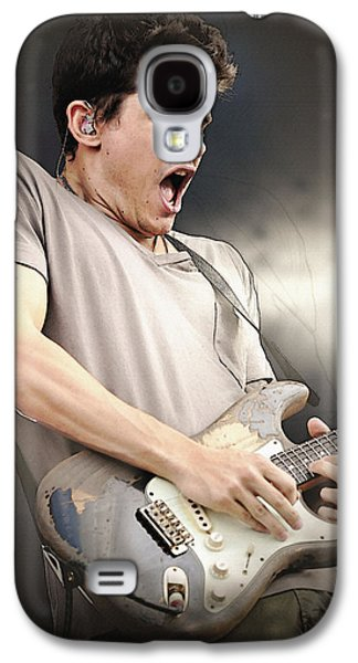 Beatles Galaxy S4 Cases - John Mayer Galaxy S4 Case by Don Kuing