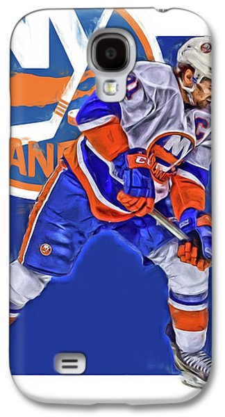 John Tavares New York Islanders Oil Art Series 2 Galaxy S4 Case by Joe Hamilton