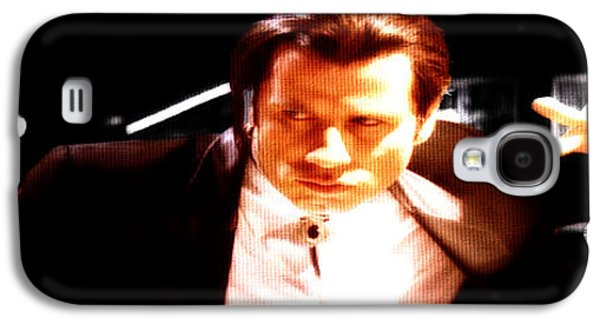 Slaves Galaxy S4 Cases - John Travolta 3a Galaxy S4 Case by Brian Reaves