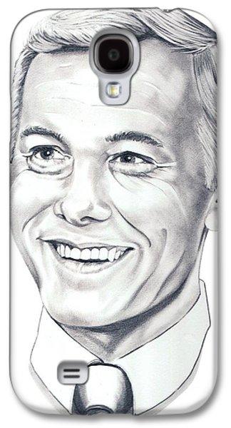 Johnny Carson Galaxy S4 Case by Murphy Elliott