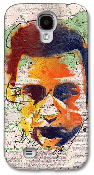 Johnny Cash - Gatlinburg Tennessee Galaxy S4 Case by Ryan  Hopkins