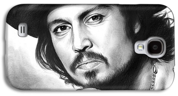 Johnny Depp Galaxy S4 Case by Greg Joens