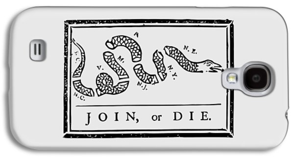 Join Or Die Galaxy S4 Case by War Is Hell Store