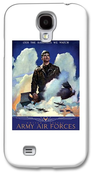 Army Mixed Media Galaxy S4 Cases - Join The Army Air Forces Galaxy S4 Case by War Is Hell Store