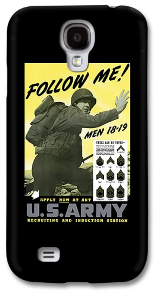 Join The Us Army  Galaxy S4 Case by War Is Hell Store