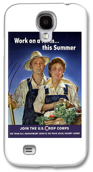 Farming Galaxy S4 Cases - Join The U.S. Crop Corps Galaxy S4 Case by War Is Hell Store