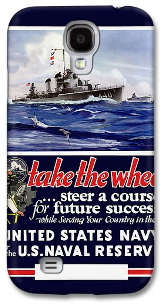 Join The Us Navy - Ww2 Galaxy S4 Case by War Is Hell Store