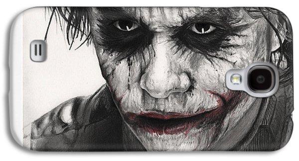 Joker Face Galaxy S4 Case by James Holko