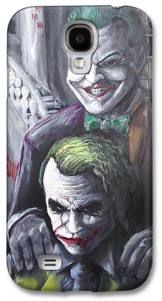 Jokery In Wayne Manor Galaxy S4 Case by Tyler Haddox