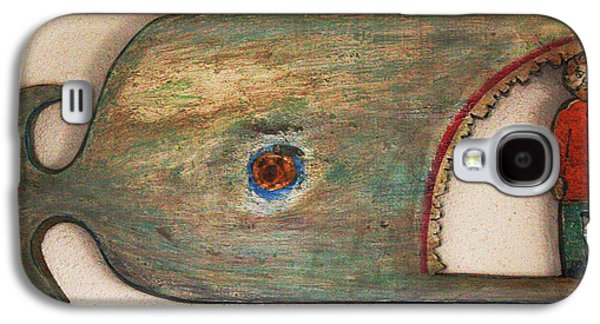 Bible Reliefs Galaxy S4 Cases - Jonah Stand Up  Galaxy S4 Case by James Neill