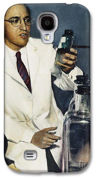 1950s Portraits Photographs Galaxy S4 Cases - Jonas Salk (1914-1995) Galaxy S4 Case by Granger