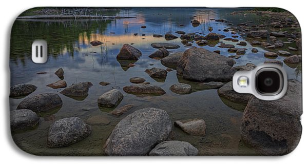 Maine Mountains Galaxy S4 Cases - Jordan Pond Afterglow Galaxy S4 Case by Rick Berk