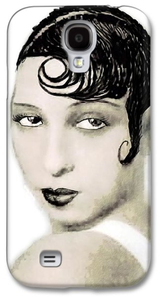 African-american Galaxy S4 Cases - Josephine Baker draw Galaxy S4 Case by Joaquin Abella