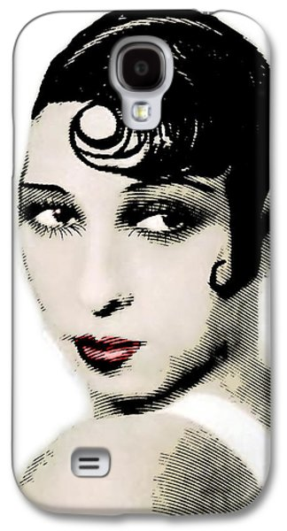 African-american Galaxy S4 Cases - Josephine Baker drawing and engraving Galaxy S4 Case by Joaquin Abella