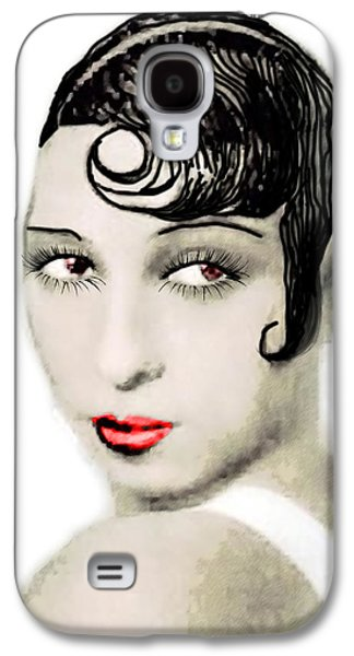 African-american Galaxy S4 Cases - Josephine Baker drawing Galaxy S4 Case by Joaquin Abella