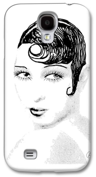 African-american Galaxy S4 Cases - Josephine Baker pencil Galaxy S4 Case by Joaquin Abella