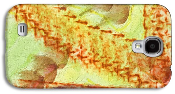 Abstract Digital Galaxy S4 Cases - Journey Into Reality Galaxy S4 Case by Deborah Benoit