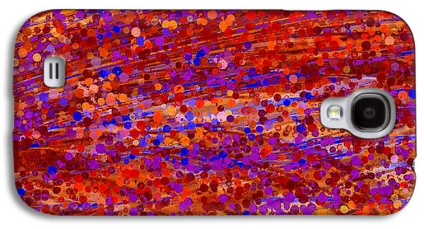 Abstract Digital Tapestries - Textiles Galaxy S4 Cases - Joyful Dreamings Galaxy S4 Case by Suzi Freeman