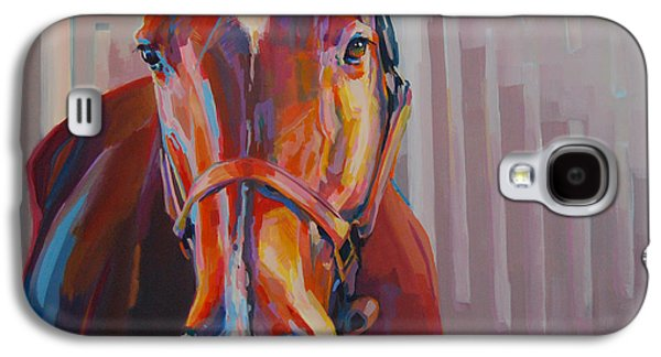 Chestnut Horse Galaxy S4 Cases - Jt Galaxy S4 Case by Kimberly Santini