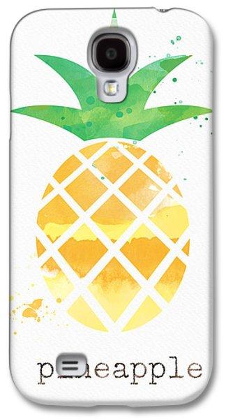 Juicy Pineapple Galaxy S4 Case by Linda Woods