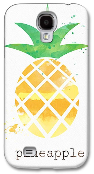 Healthy Galaxy S4 Cases - Juicy Pineapple Galaxy S4 Case by Linda Woods