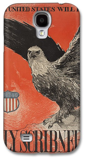 July Paintings Galaxy S4 Cases - July Scribners Galaxy S4 Case by Celestial Images