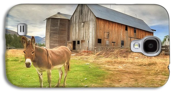 Just Another Day On The Farm Galaxy S4 Case by Donna Kennedy