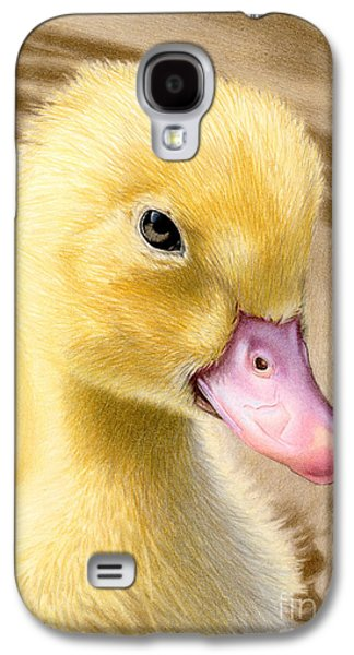 Just Ducky Galaxy S4 Case by Sarah Batalka