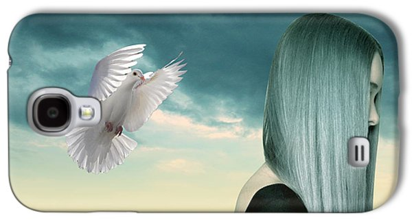 Spiritualism Galaxy S4 Cases - Just Go  Galaxy S4 Case by Mark Ashkenazi