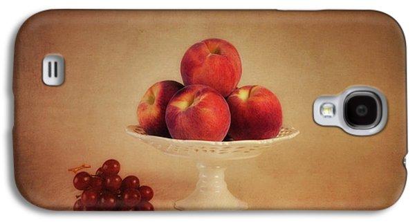 Just Peachy Galaxy S4 Case by Tom Mc Nemar