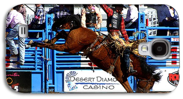 Cowboy Photographs Galaxy S4 Cases - Just Two More Seconds To Go Galaxy S4 Case by Joe Kozlowski