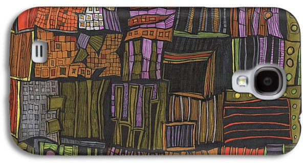 Juxtaposed Places Galaxy S4 Case by Sandra Church
