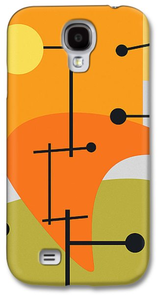 Abstract Digital Digital Art Galaxy S4 Cases - Juxtaposing Thoughts Galaxy S4 Case by Richard Rizzo