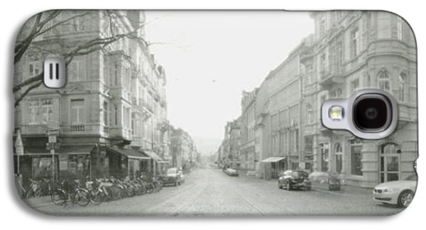 Recently Sold -  - Loose Style Photographs Galaxy S4 Cases - Kaiser Joseph Strasse in Freiburg Galaxy S4 Case by Marcio Faustino