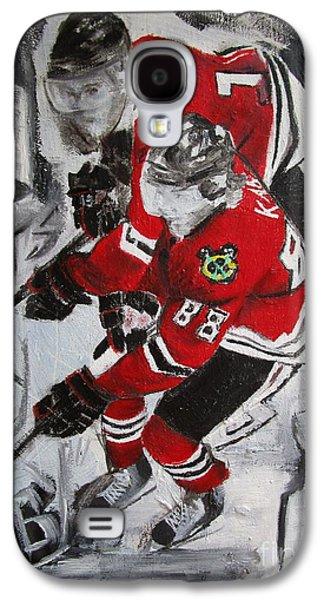 Kane Toews 3 Cups Galaxy S4 Case by John Sabey Jr