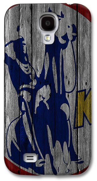 Kansas City Scouts Wood Fence Galaxy S4 Case by Joe Hamilton