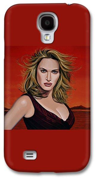Kate Winslet Galaxy S4 Case by Paul Meijering