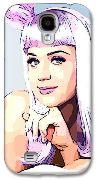 Katy Perry Galaxy S4 Cases - KATY PERRY - Cotton Candy Colored Galaxy S4 Case by Lauranns Etab