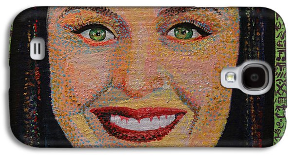 Katy Perry Galaxy S4 Cases - Katy Perry Portait Galaxy S4 Case by Robert Yaeger