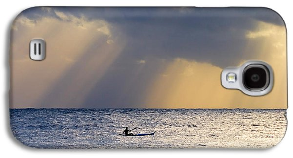 Paddle Galaxy S4 Cases - Kayak At Dawn Galaxy S4 Case by Mike  Dawson