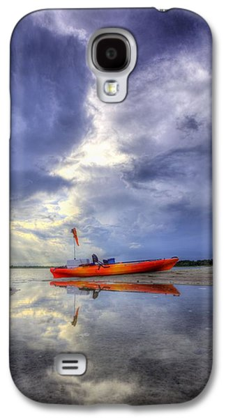 Panama City Beach Galaxy S4 Cases - Kayak Panama City Beach Galaxy S4 Case by JC Findley