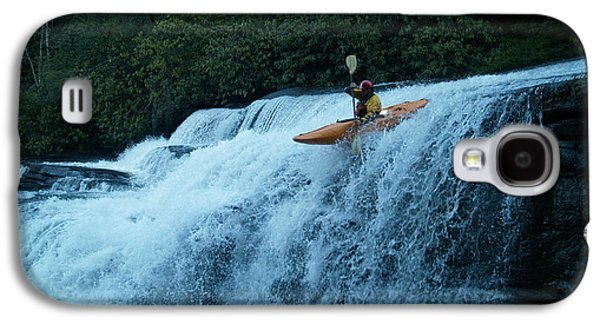Tripple Galaxy S4 Cases - Kayak Triple Falls Galaxy S4 Case by Steven Sloan
