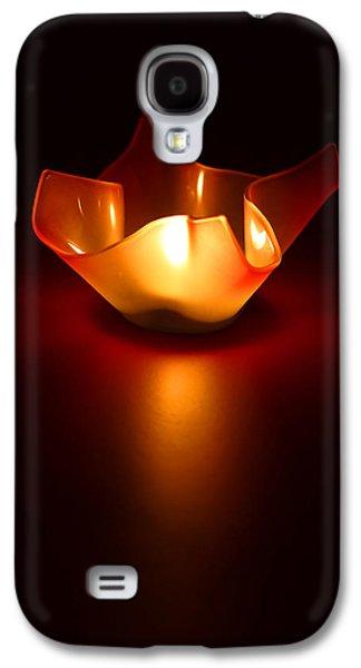 Simplistic Galaxy S4 Cases - Keep the Light On Galaxy S4 Case by Evelina Kremsdorf