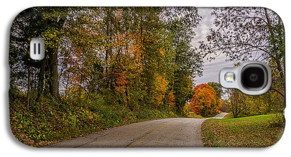 Kentucky County Lane In Fall Galaxy S4 Case by Wendell Thompson